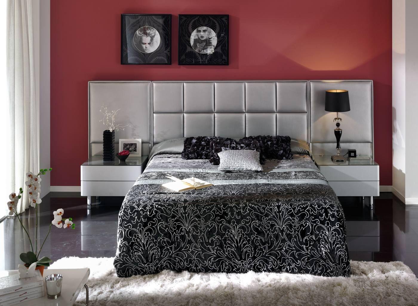 Cabeceras De Cama Tapizadas Google Search Muebles Pinterest  # Tauron Muebles Mercadolibre