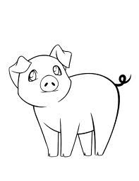 wilbur pig coloring pages | pig drawings - Google Search | Just Cute! | Pinterest ...