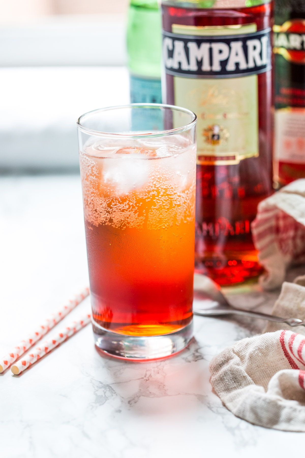 The Americano Cocktail The Girl In The Little Red Kitchen Recipe Boozy Drinks Cocktails Campari