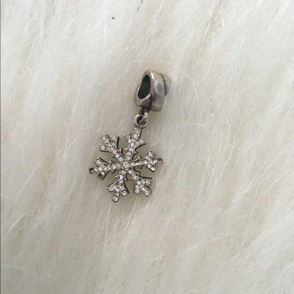 Authentic Pandora Snowflake Charm 100% authentic Pandora snowflake charm. Real sterling silver. NO TRADES PLEASE Pandora Jewelry