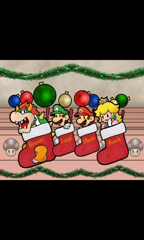 A Paper Mario Christmas Mario Nerdy Christmas Paper Mario