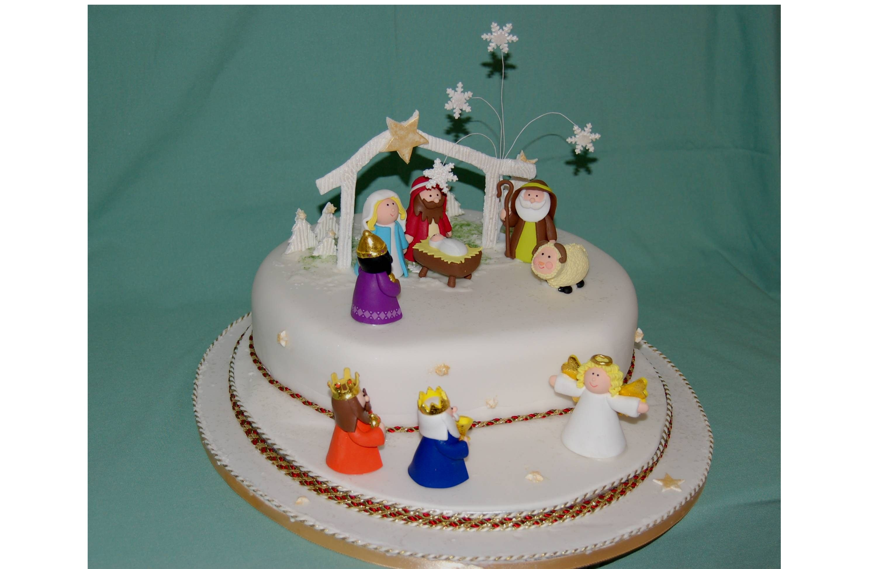 Nativity Cake Decorations
