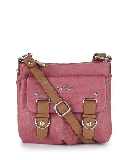 Sheila Cross-Body Bag - Pink