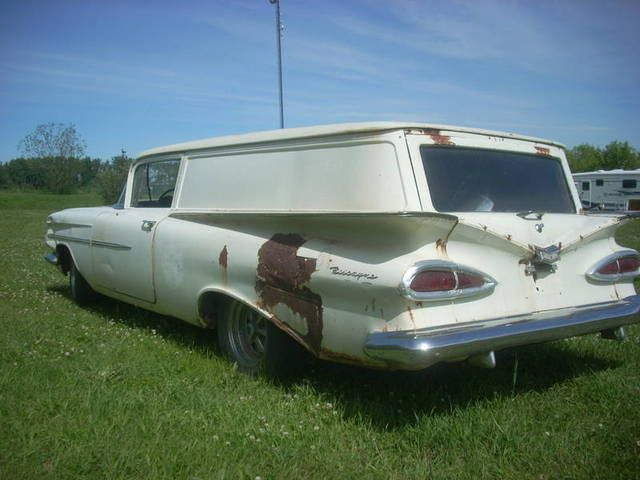 1959 Chevrolet Sedan Delivery discovered to be an original