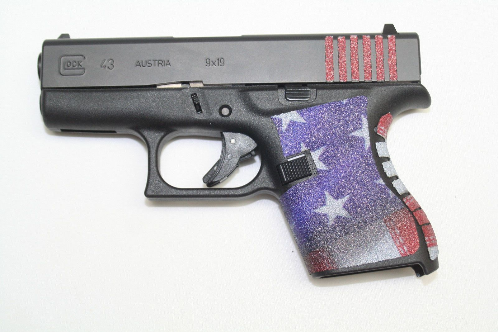 fa221d770fae AMERICAN FLAG custom GRIP TAPE FITS 43HANDGUN GUN PISTOLNONE SLIP American  Flag