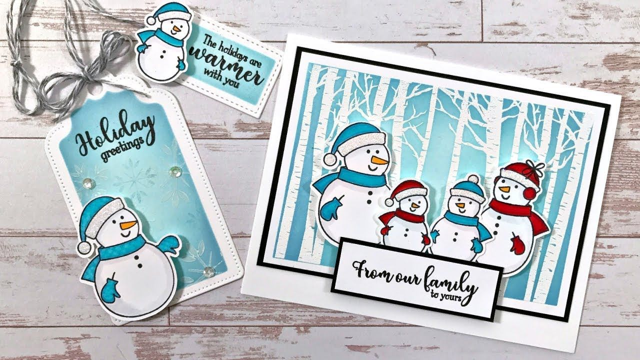 Simon Says Stamp Stamptember Exclusive Youtube Cards Christmas