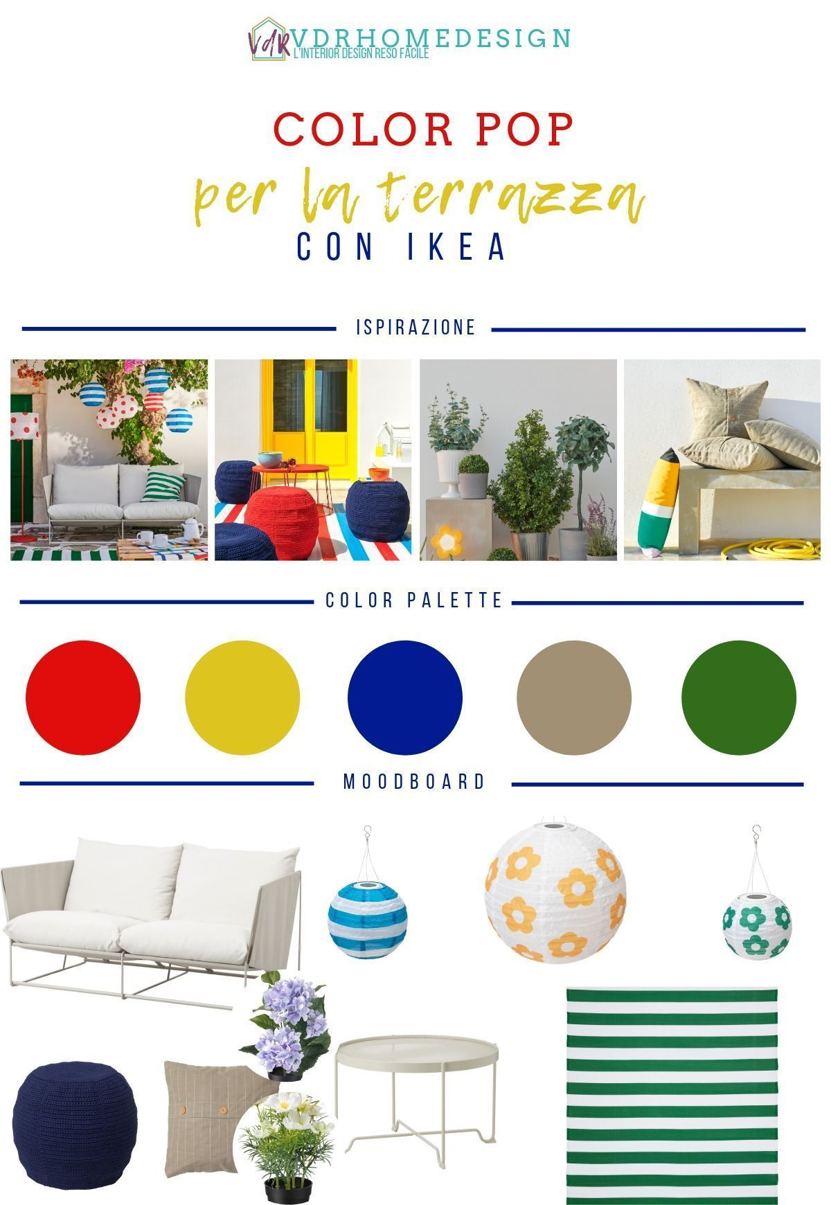 Arredare la terrazza con Ikea il mio progetto completo ...