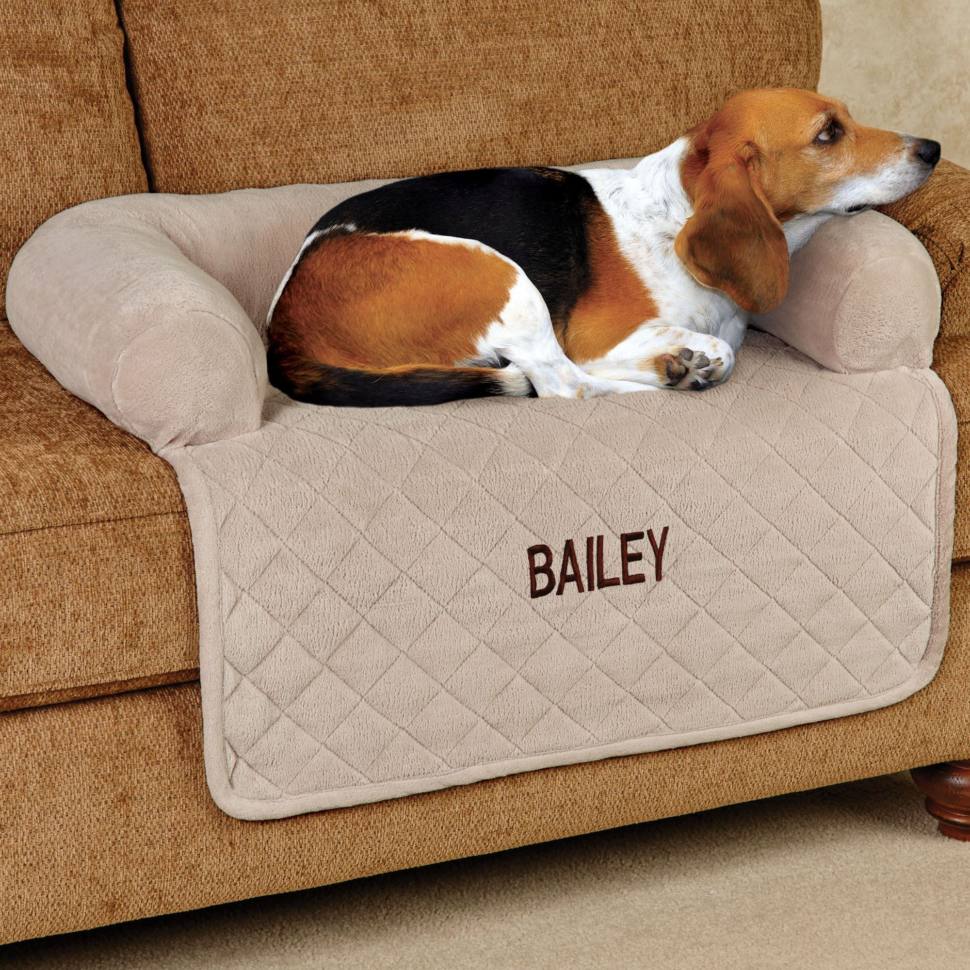 Superb Ultimate Microplush Quilted Pet Cover With Bolster Home Inzonedesignstudio Interior Chair Design Inzonedesignstudiocom