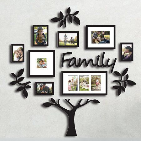 DL furniture - Family Tree Photo Frame Set College Frame - Wall ...