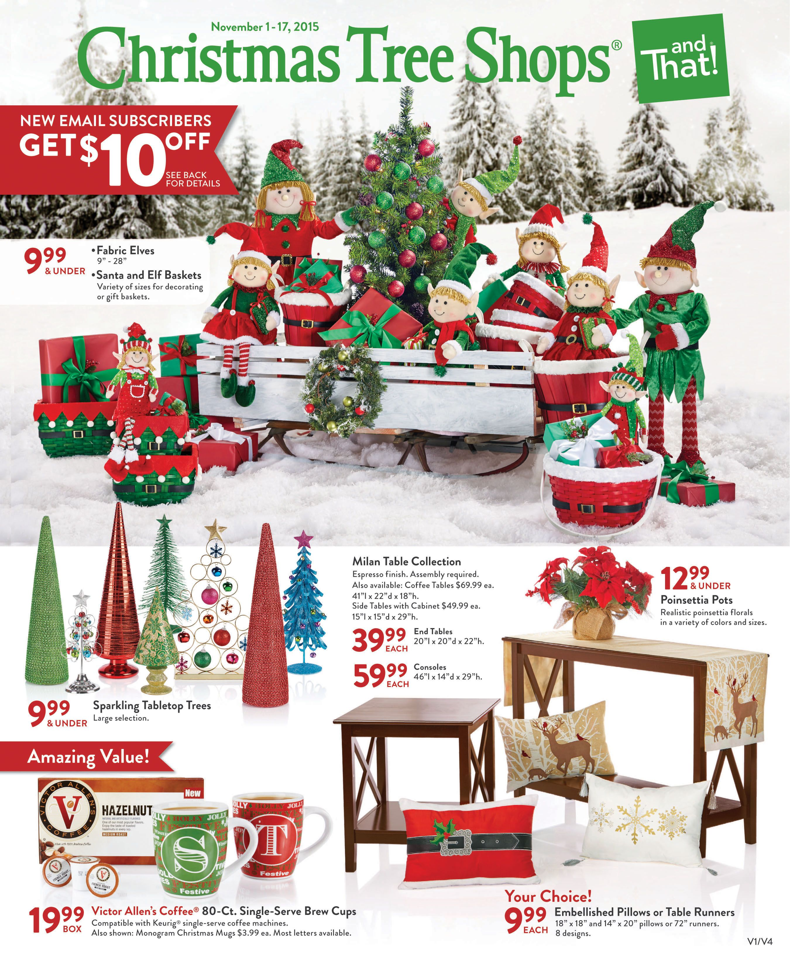 Find Everything You Need For Holiday Decorating In Our Latest Flyer Christmas Tree Shop Discount Home Decor Tree Shop