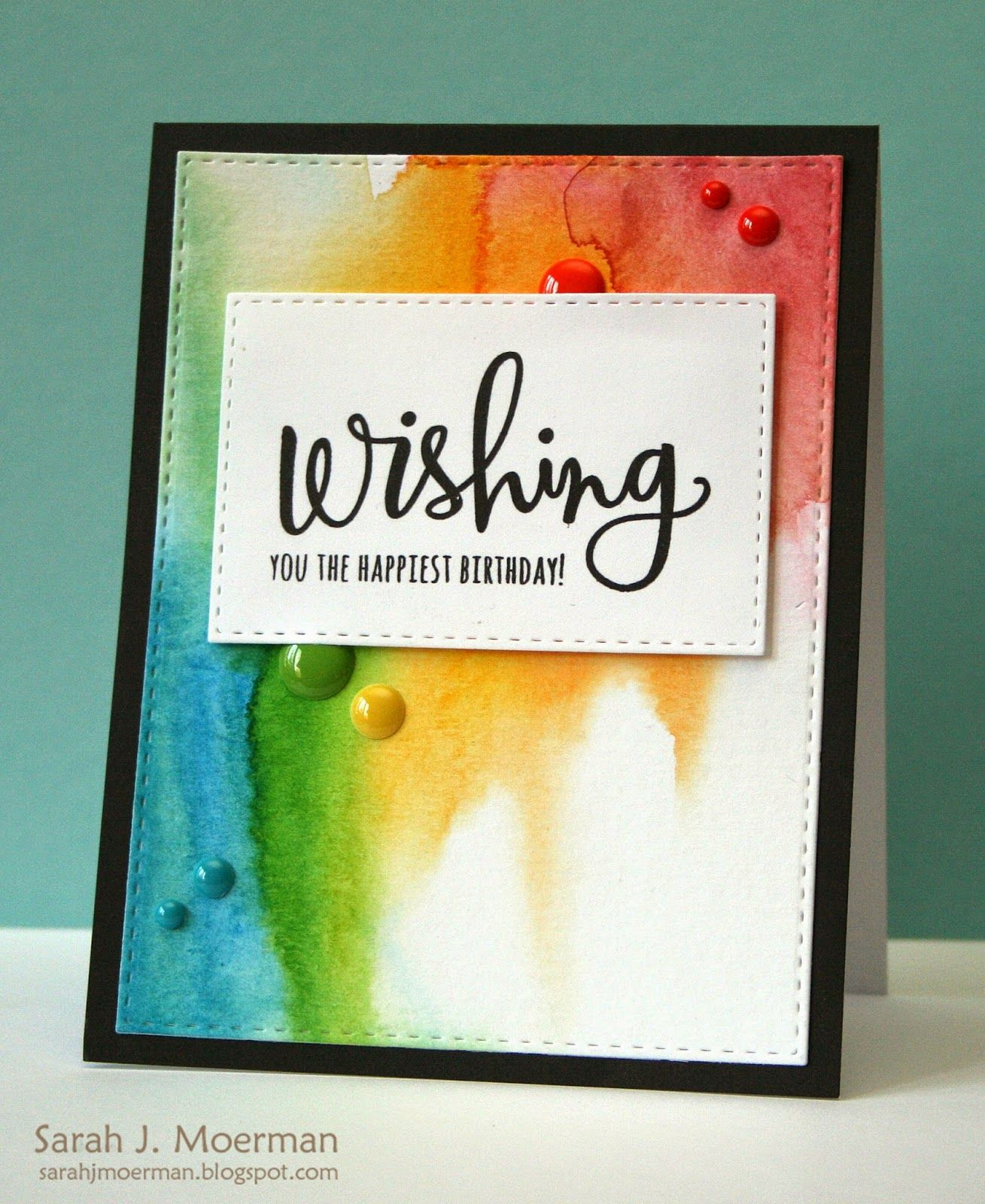 My Impressions: Wishing You the Happiest Birthday (& Simon Says Stamp May Card Kit Reveal)