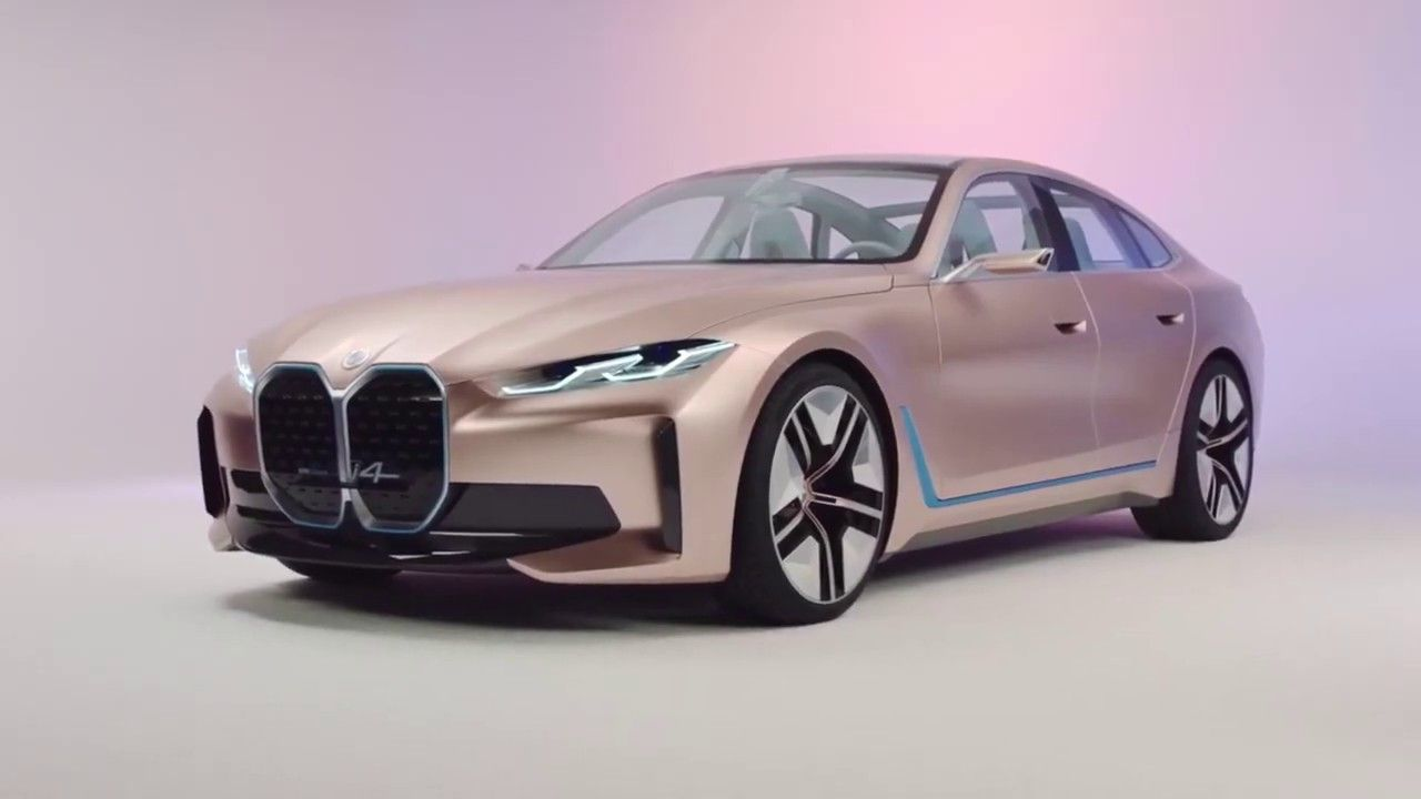 Bmw Concept I4 Exterior Design In 2020 Bmw Concept Bmw New Cars