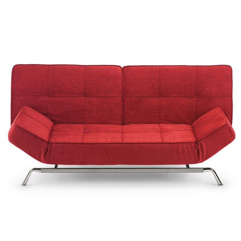 Manila sof cama rojo sof camas pinterest sof s - Sofa cama rojo ...