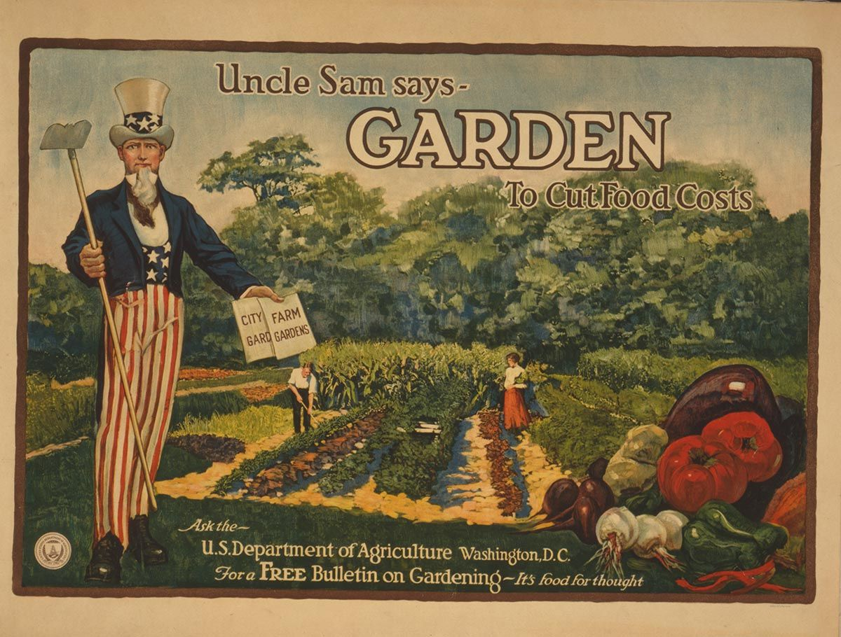 12 fantastic victory garden posters modern farmer gardens and
