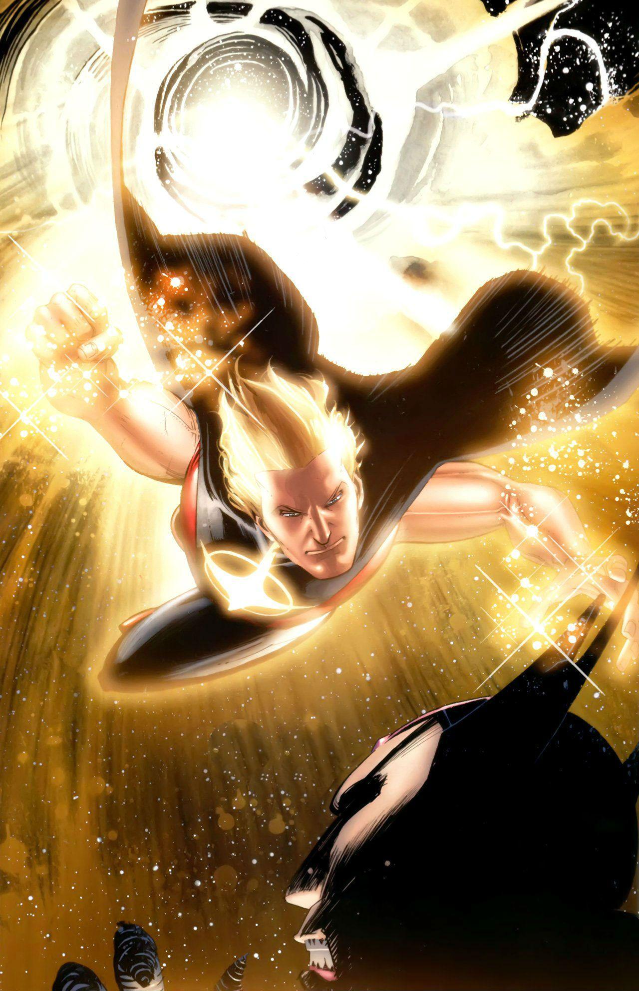 Quasar (Wendell Vaughn) by Wes Craig | Marvel quasar, Man thing marvel, Guardians of the galaxy