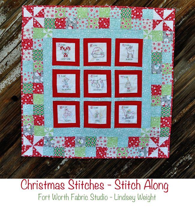 Christmas Stitches Last Block And Borders Fort Worth Fabric Studio Bloglovin