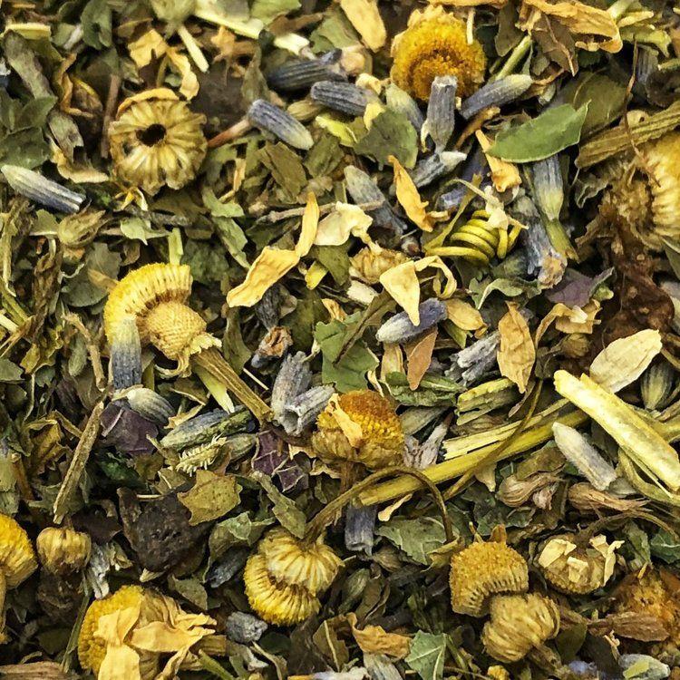 Rem Lavender Valerian Root Passionflower Hathor S Organics In 2020 Herbalism Organic Herbal Tea Herbal Tea Blends