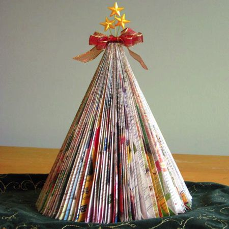 Christmas Tree Made Of Books Google Search Book Christmas Tree Christmas Tree Made Of Books Christmas Decorations Cheap