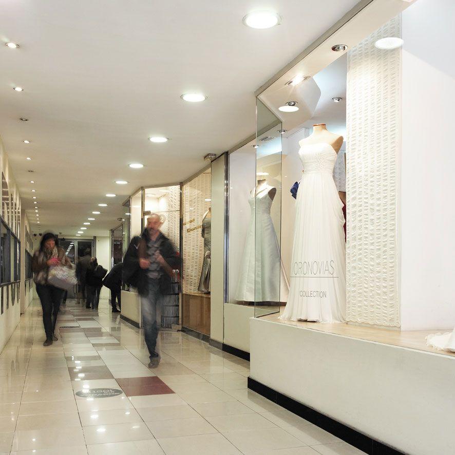 Detalle de una de las tiendas del centro comercial David.