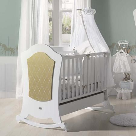 Кроватка Micuna Alexa Relax 120х60 белый/золото  — 34750р. ----- Кровать Micuna Alexa Relax 120х60 белый/золото  Ночник-проектор звездного неба Summer Infant божья коровка