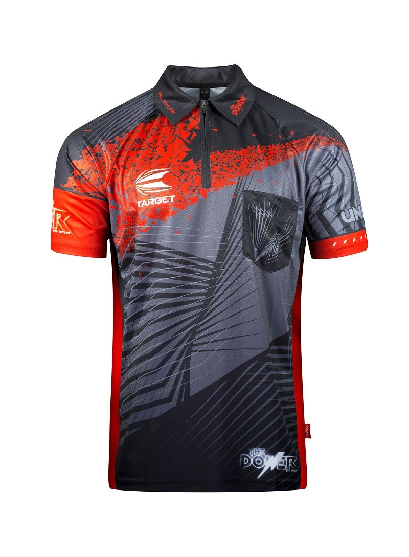 Target Phil Taylor Power Cool Play Darts Shirt 2018