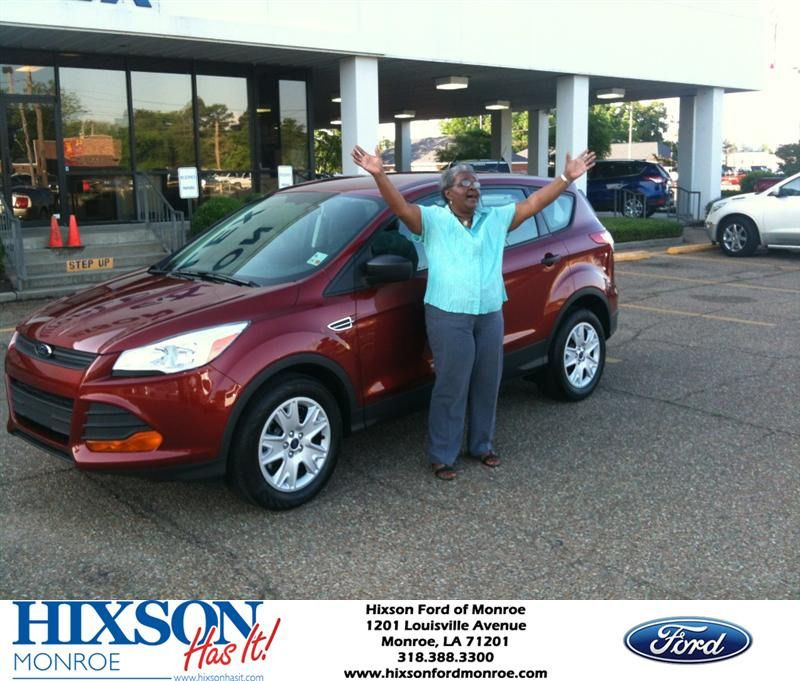 Congratulations to Frances Wilson on your Ford Escape