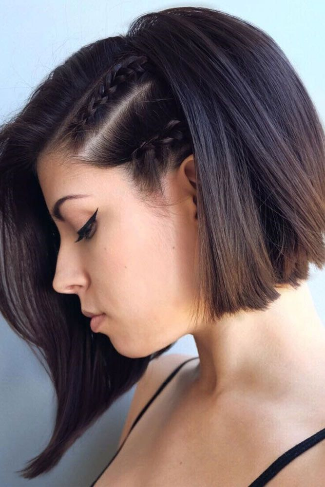 Seamless Short Hairstyles To Greet The Holidays Prom Hairstyles