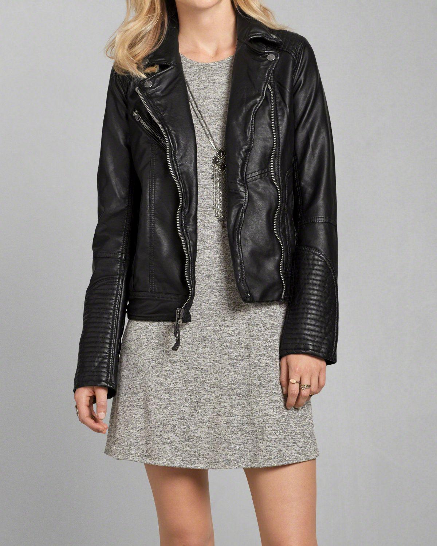 Vegan Leather Biker Jacket Women Outerwear Jacket Womens Leather Biker Jacket Leather Outerwear [ 1500 x 1200 Pixel ]