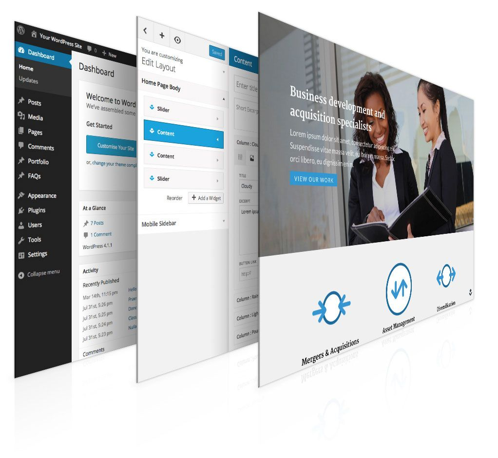 Introducing Layers for WordPress Wordpress, Create your