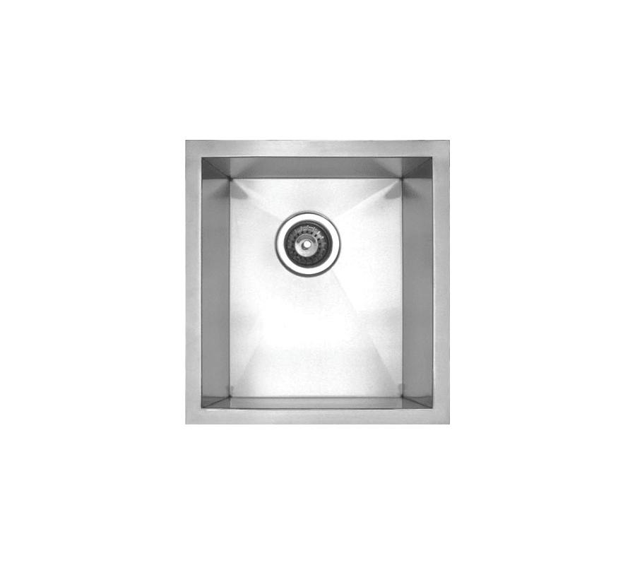 Whitehaus Whnc1517 Brushed Stainless Steel Sink Undermount Sink
