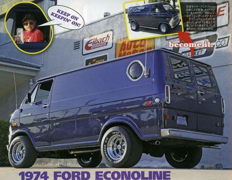 1974 Ford Econoline Custom Van The Material Which I Can Produce Is