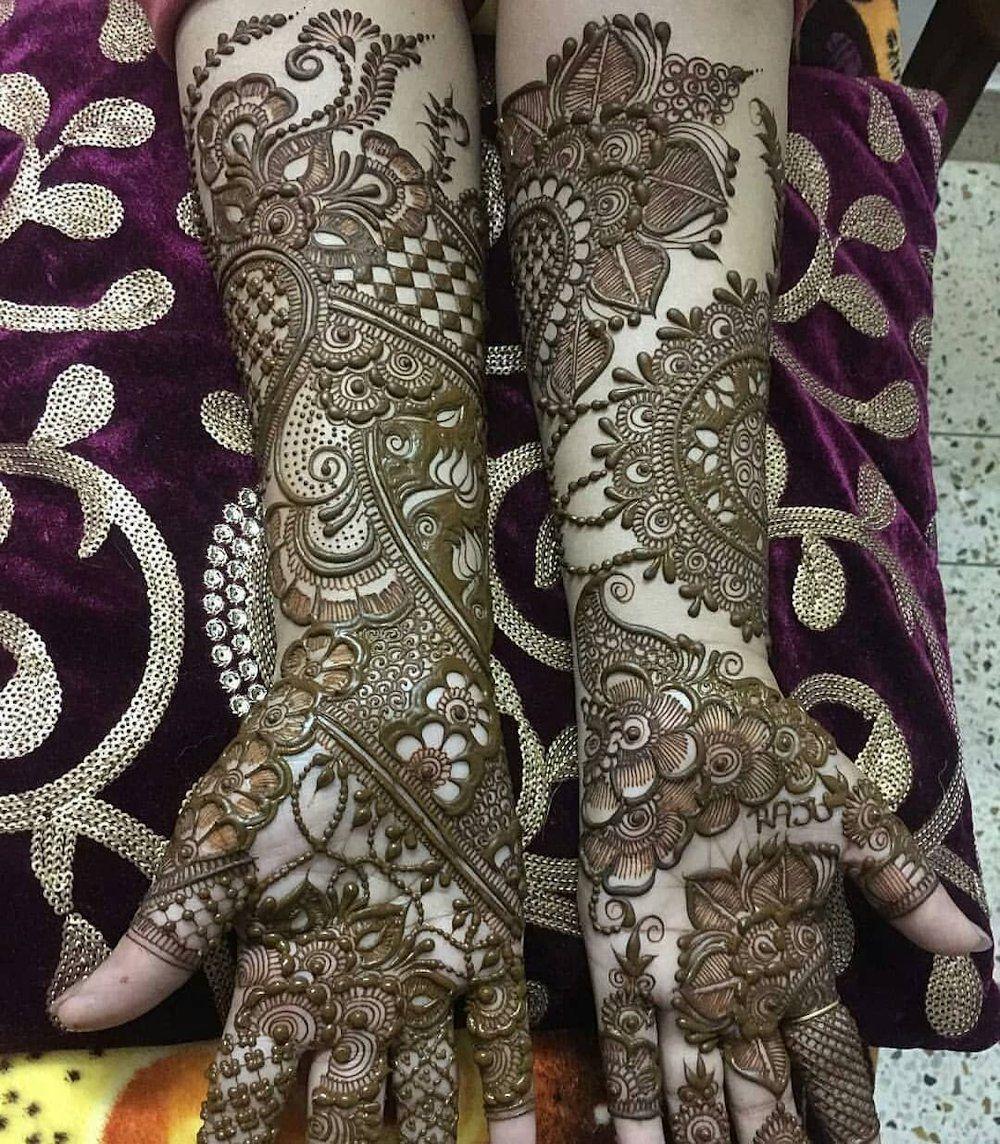 arabic bridal mehndi designs for full hands and legs