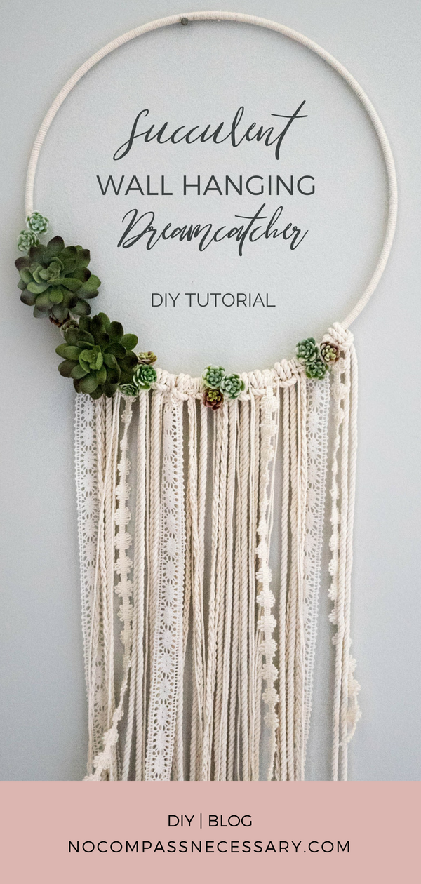Photo of DIY Floral Wall Hanging Dreamcatcher