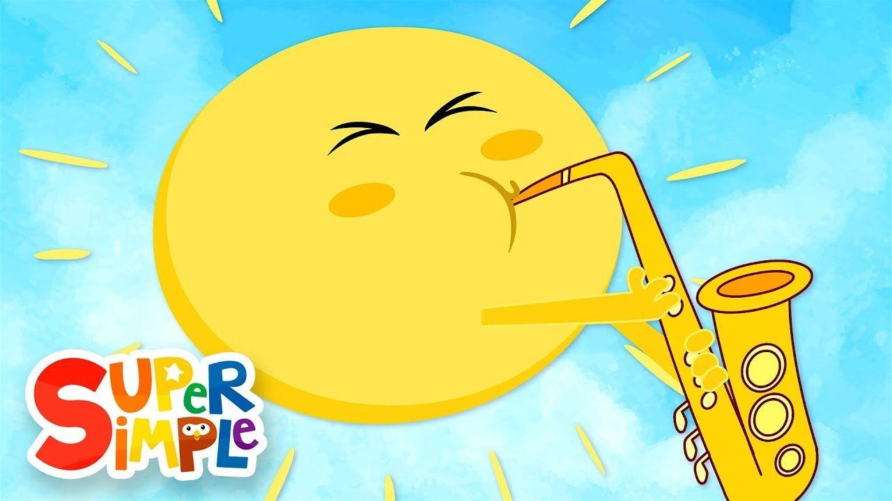 Mr Sun Sun Mr Golden Sun Kids Songs Super Simple Songs Kids Songs Space Songs For Kids Preschool Songs