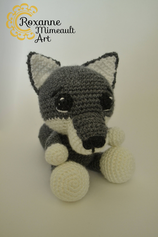 Wolf amigurumi, coyote crochet toy | Pinterest | Amigurumi, Crochet ...