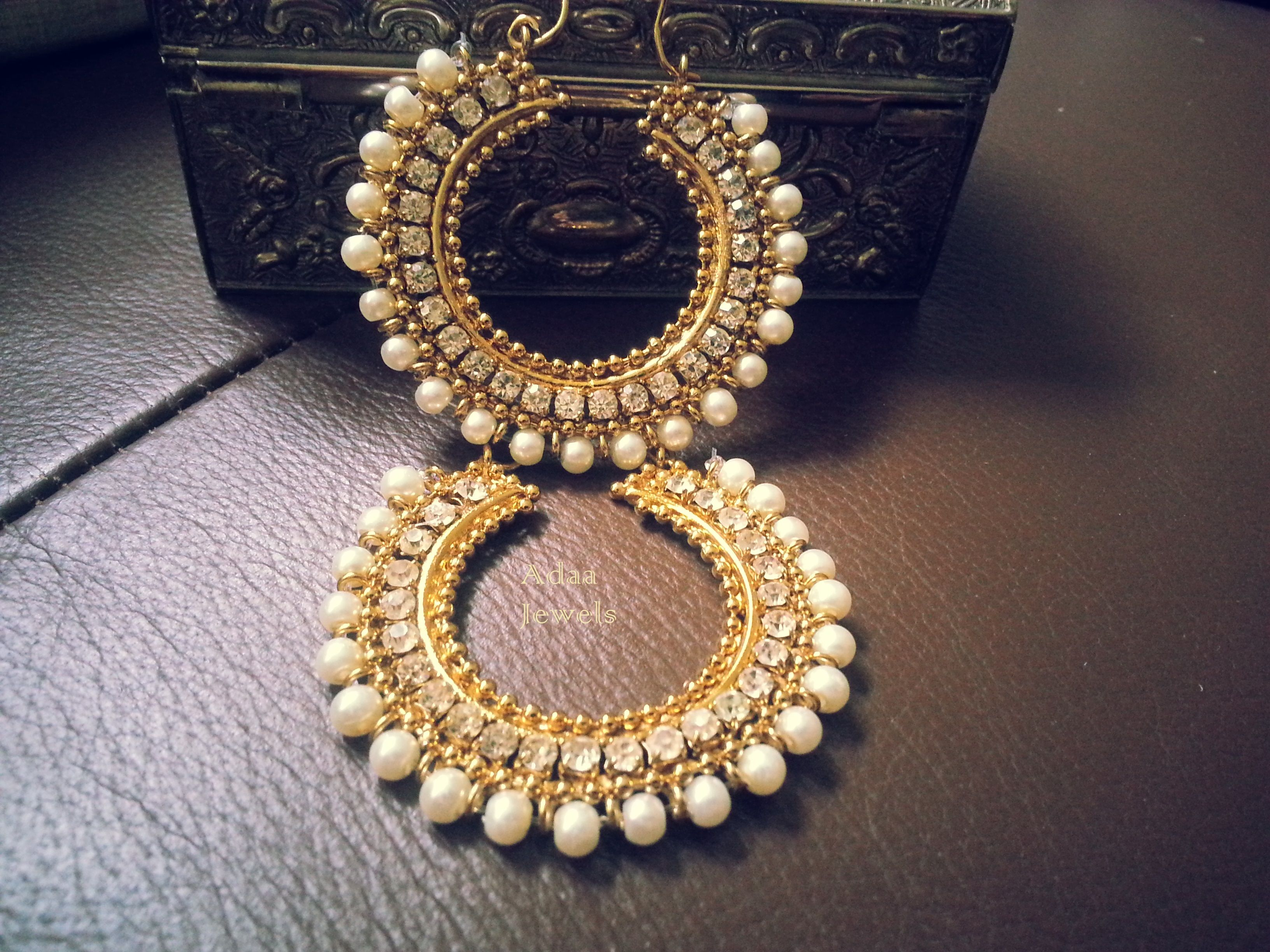 Best 25+ Chand bali earrings gold ideas on Pinterest | Indian ...
