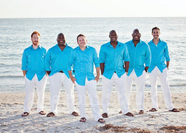 Nice Option For Groomsmen Attire With Images Beach Wedding