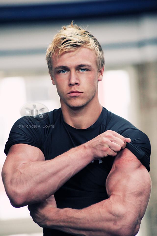 I Love Muscle Blonde Guys Buff Guys Bodybuilders
