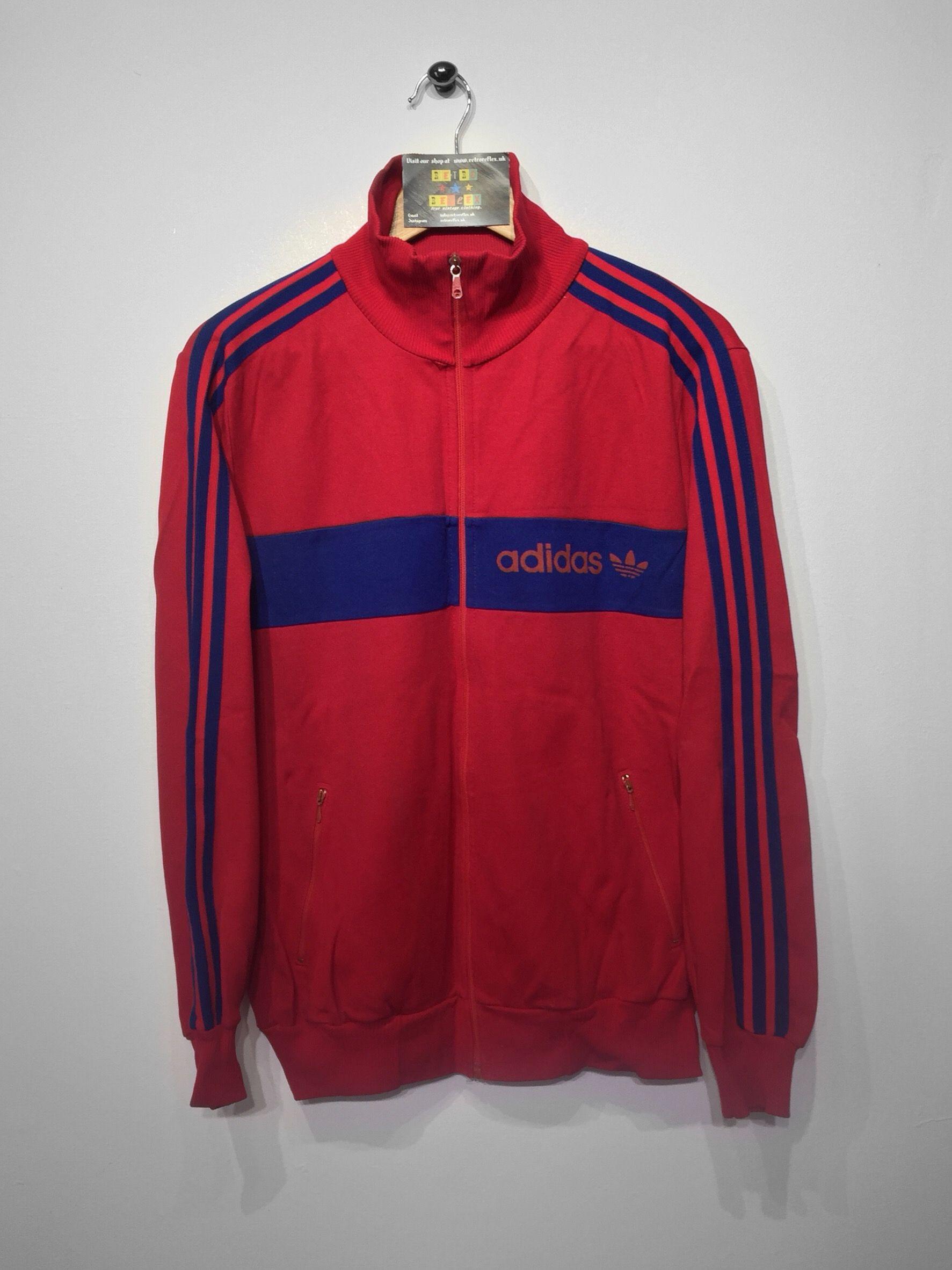 purchase cheap 5938f 3e5eb Adidas track jacket size Medium £28 Website➡ www.retroreflex.uk