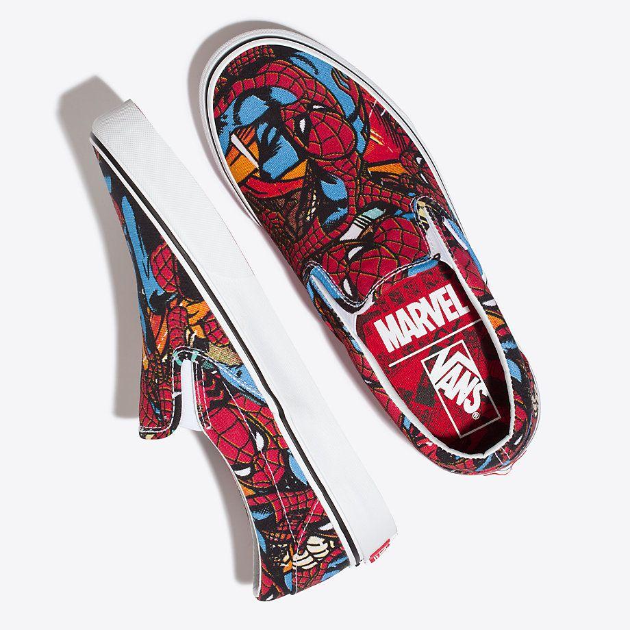67d29dad18e23d Vans x Marvel Slip-On