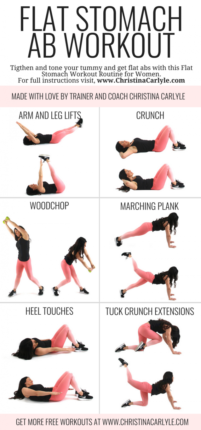 Flat Stomach Fat Burning Ab Workout Gesundheit Und Fitness