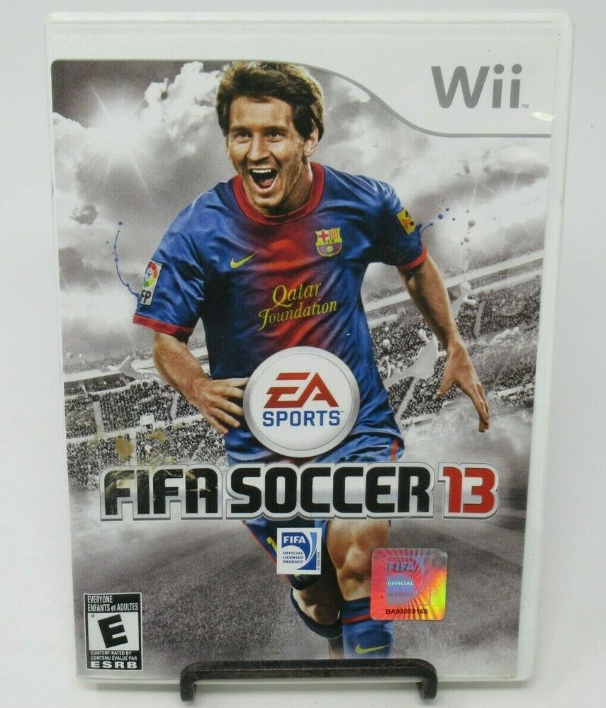 FIFA SOCCER 13 GAME FOR NINTENDO Wii, GAME DISC, CASE