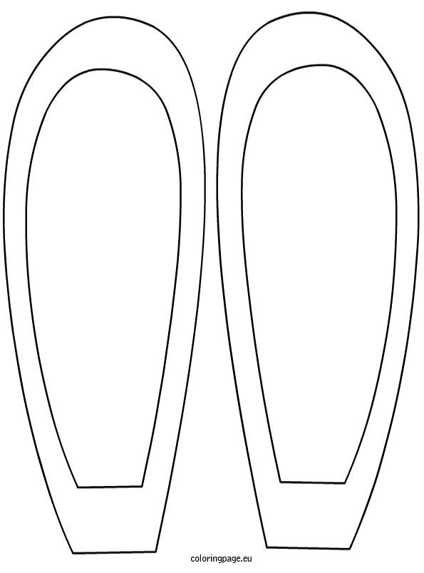 Easter Bunny Ears Template Coloring Page Easter Bunny Ears Template Easter Bunny Ears Easter Templates