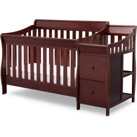 Delta Children Bentley S Convertible Crib N Changer Combo