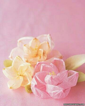 Pin by debora browning on sunshine a little pink pinterest shaped crepe flowers crepe paper flowers are easy beautiful and always in season how to make shaped crepe flowers martha stewart mightylinksfo