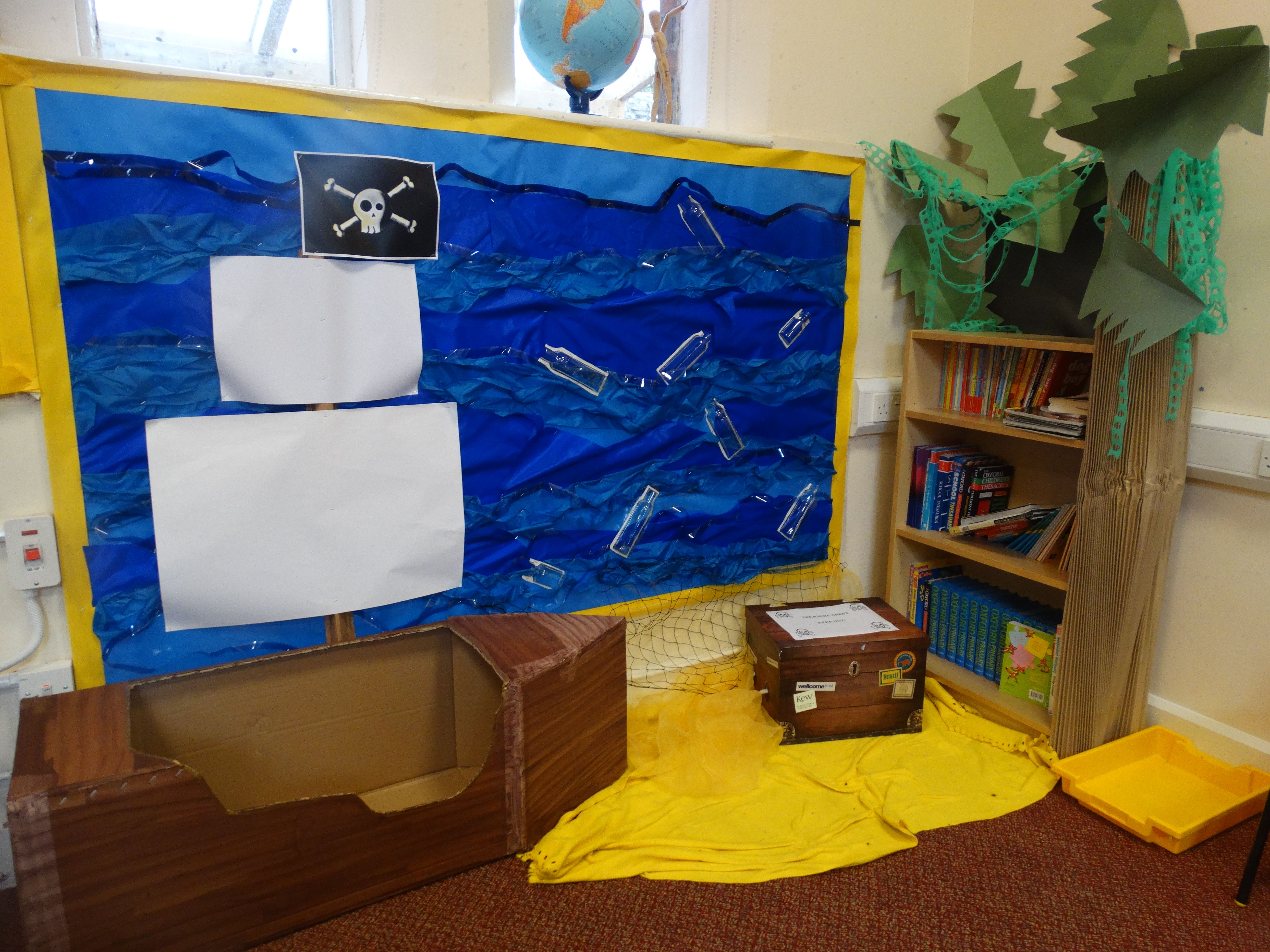 Pirate Themed Reading Area Class 2