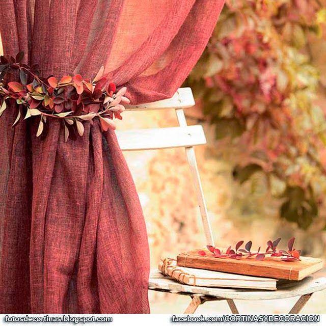 Abrazaderas de cortinas cortinas pinterest - Abrazaderas para cortinas ...