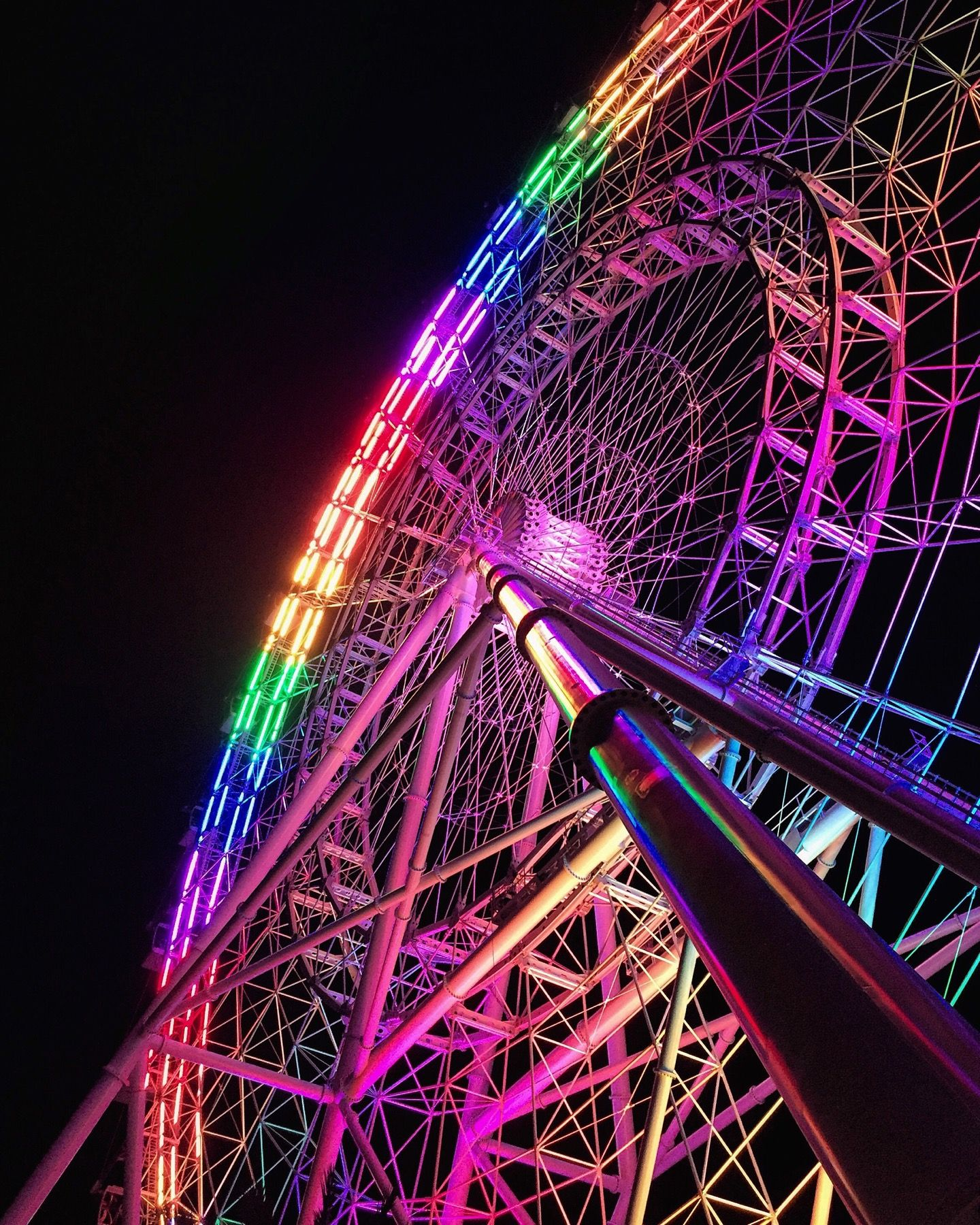 The Orlando Eye Orlando eye, Neon wallpaper, Summer plans