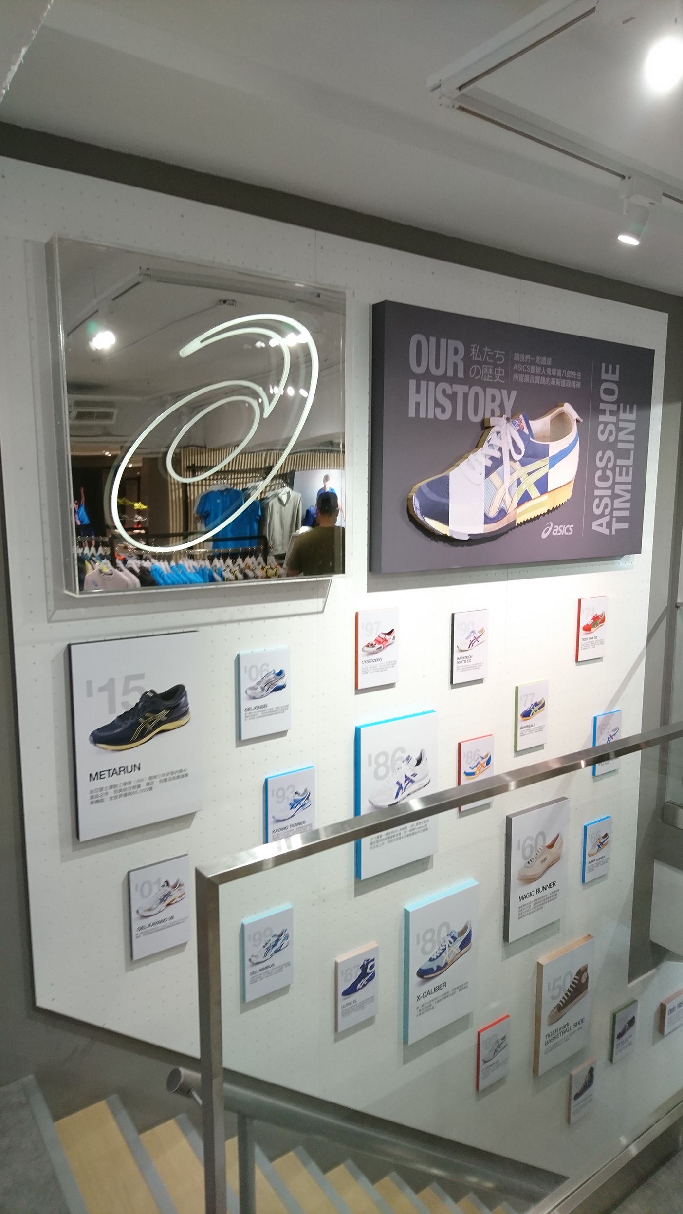 History Asics Wall In Shoe Taipei wP0Onk