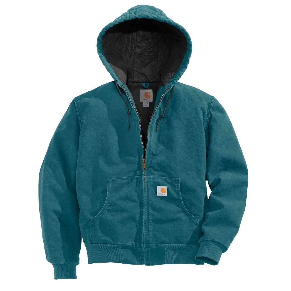 7c856ea1ce9 Carhartt Women s Dark Teal Sandstone Active Jacket